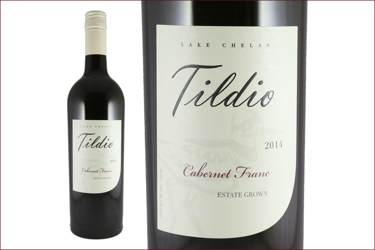 Tildio Winery 2014 Estate Cabernet Franc