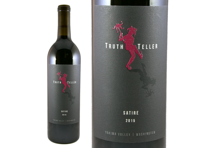 Truth Teller Winery 2015 Satire