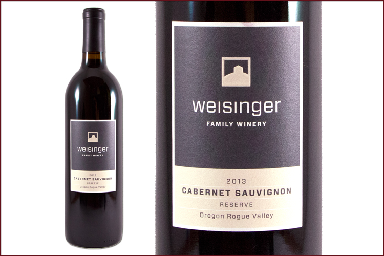 Weisinger Family Winery 2013 Cabernet Sauvignon Reserve