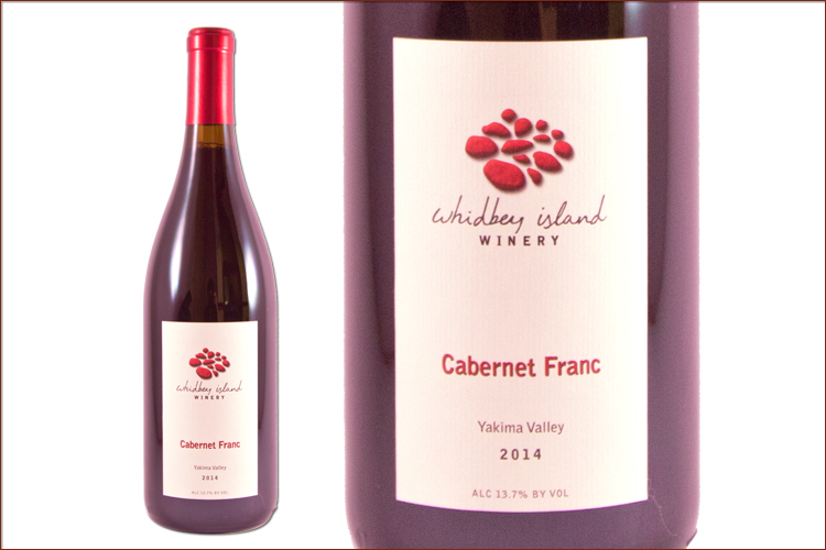 Whidbey Island Winery 2014 Cabernet Franc