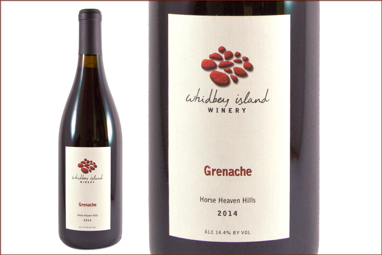 Whidbey Island Winery 2014 Grenache