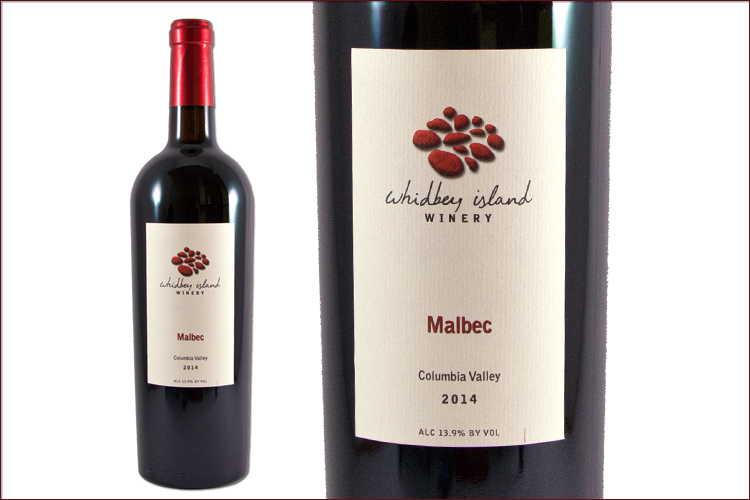 Whidbey Island Winery 2014 Malbec