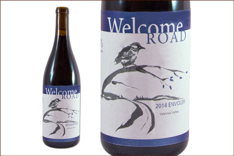 Welcome Road Winery 2014 Envoler Cabernet Sauvignon wine bottle
