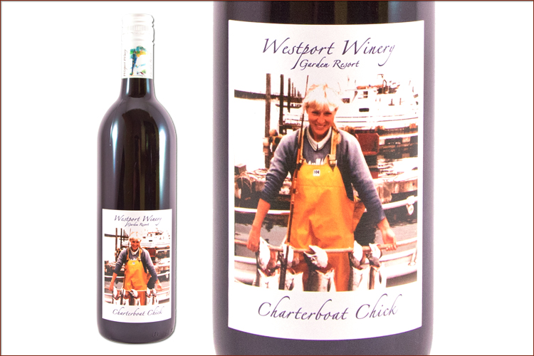 Westport Winery 2014 Charterboat Chick Cabernet Sauvignon wine bottle