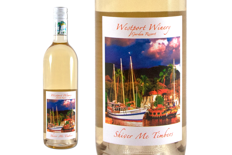 Westport Winery Shiver Me Timbers wine bottle