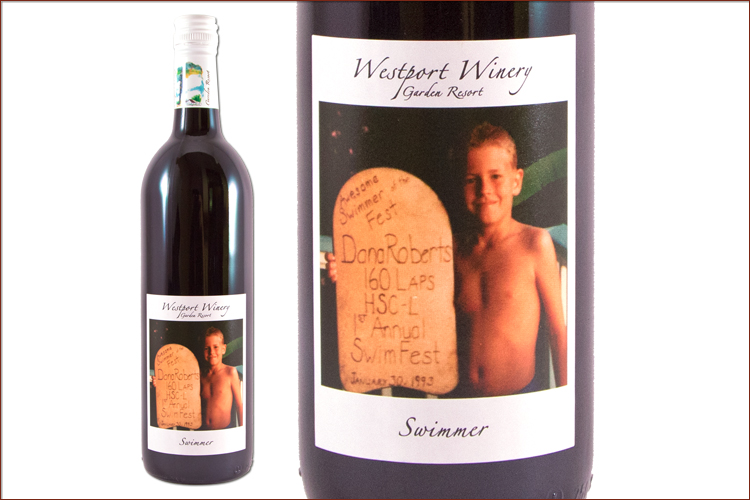 Westport Winery 2014 Swimmer Petite Sirah