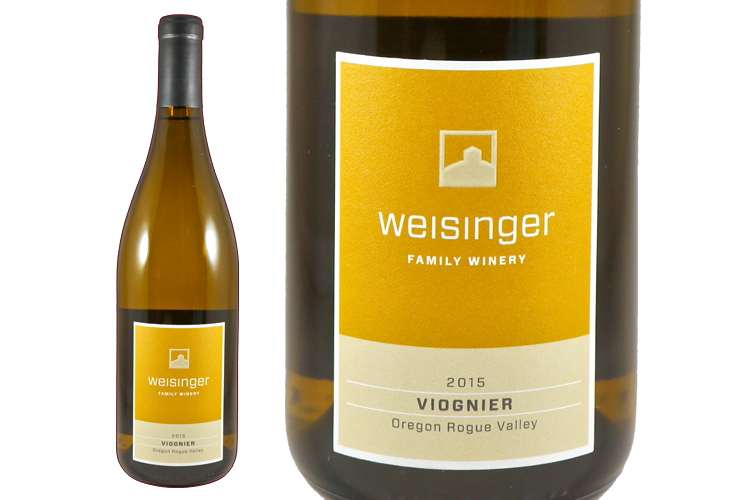 Weisinger Family Winery 2015 Viognier