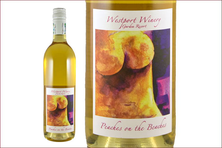 Westport Winery Peaches on the Beaches (Non-Vintage) wine bottle