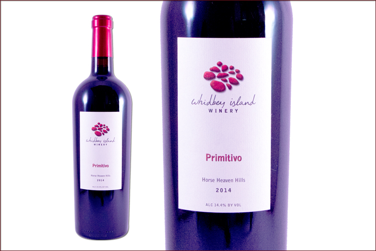 Whidbey Island Winery 2014 Primitivo
