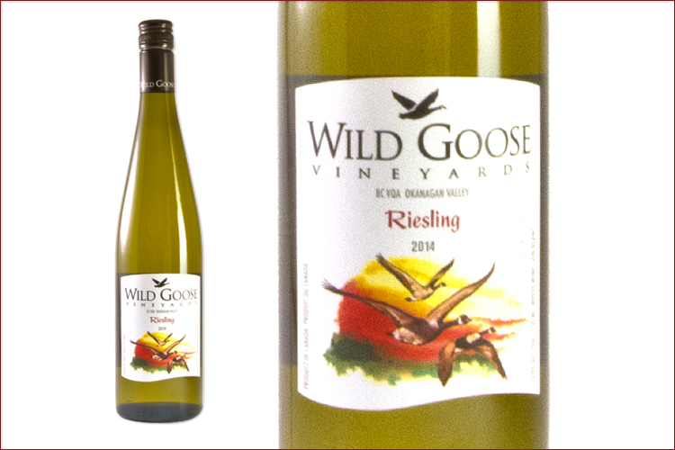 Wild Goose Vineyards and Winery 2014 Riesling wine bottle