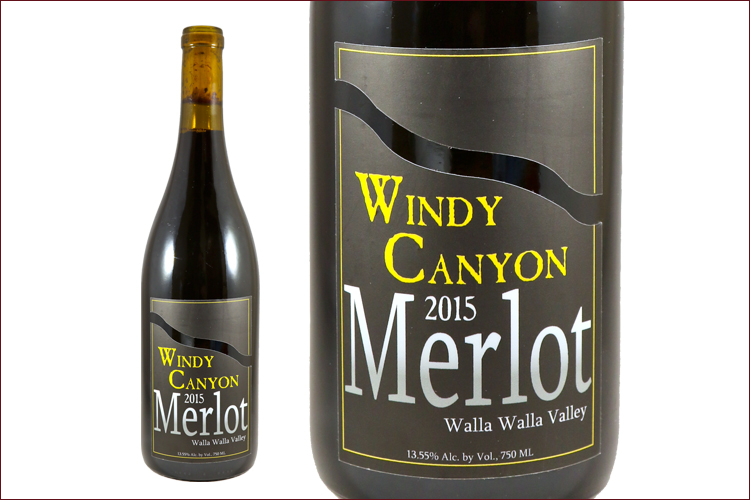 Weaver Family Winery 2015 Windy Canyon Merlot