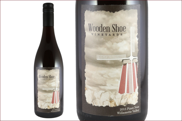 Wooden Shoe Vineyards 2015 Pinot Noir