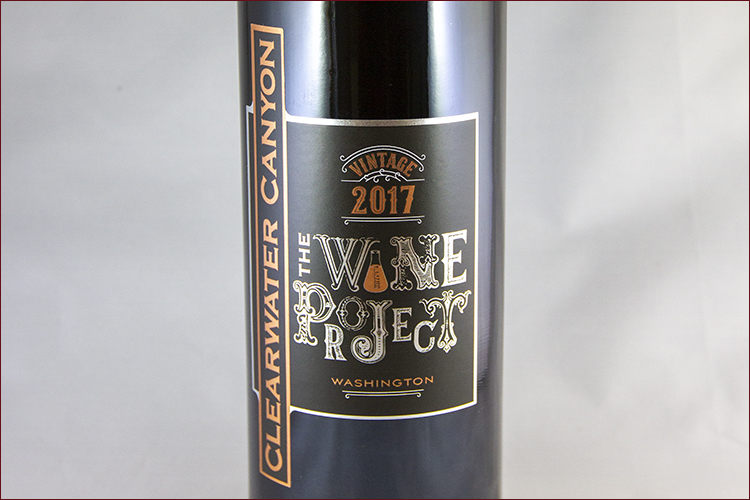 Clearwater Canyon Cellars 2017 The Wine Project