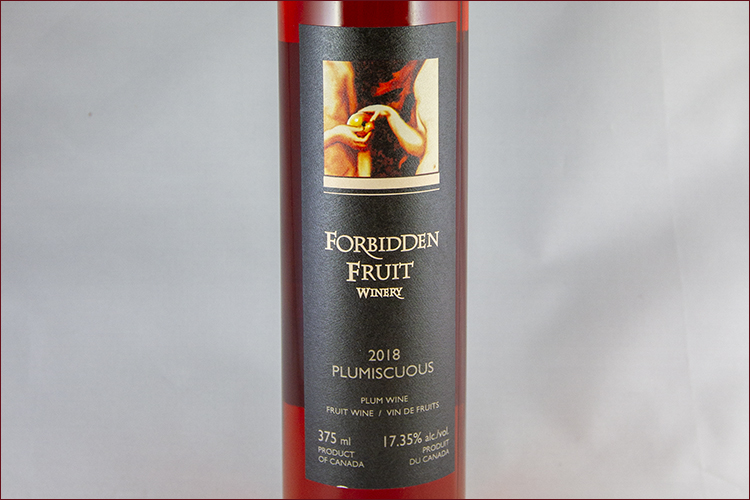 Forbidden Fruit Winery 2018 Plumiscuous Plum Mistelle