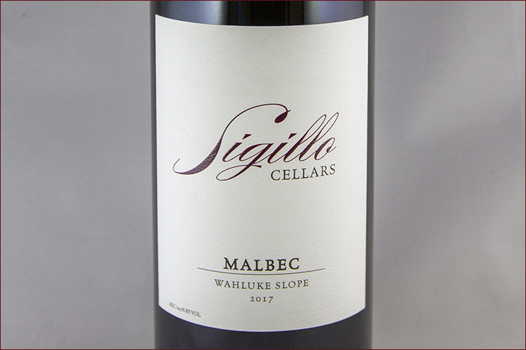 Sigillo Cellars 2017 Malbec