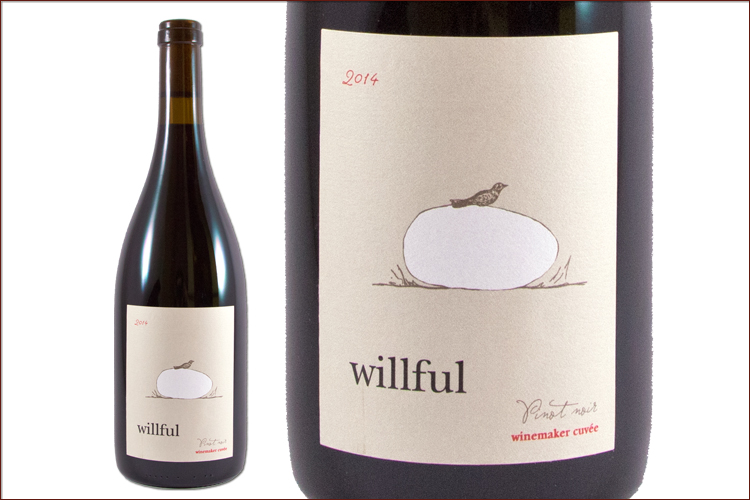 Willful Wine Co. 2014 Winemaker Cuvee Pinot Noir